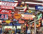 Springbok Jigsaw Puzzles - American Icons