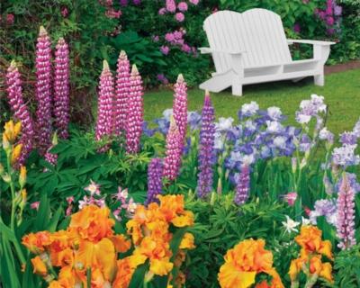 Springbok Jigsaw Puzzles - Garden Retreat