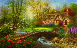 Jigsaw Puzzles - Country Home