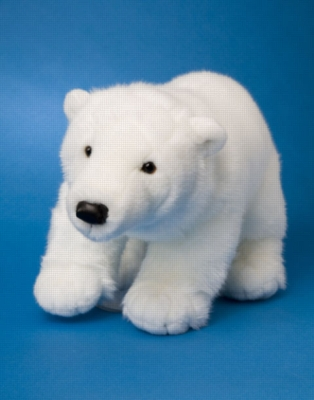 Glacier - 19'' Polar Bear By Douglas Cuddle Toy