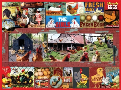 Jigsaw Puzzles - The Chicken or the Egg