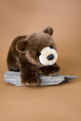 Gritty - 15'' Brown Bear By Douglas Cuddle Toy