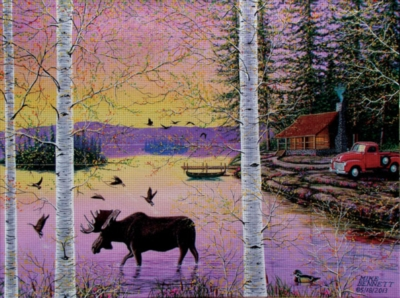 Jigsaw Puzzles - Moose Lodge