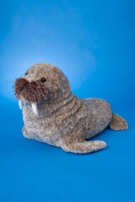 Professor - 12'' Walrus By Douglas Cuddle Toy
