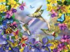 Butterflies & Hummingbirds - 300pc Jigsaw Puzzle By Sunsout