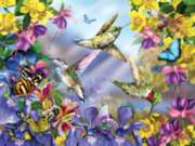 Jigsaw Puzzles - Butterflies & Hummingbirds