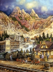 Jigsaw Puzzles - Silver Gulch Departure