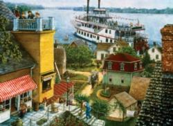 Jigsaw Puzzles - Paddle Boat Landing