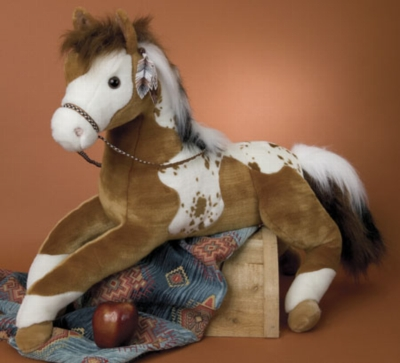 Canyon Paint - 36'' Horse By Douglas Cuddle Toy