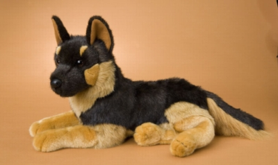 Sargeant German Shepherd - 18'' Dog By Douglas Cuddle Toy
