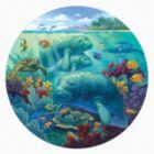Manatee Beach - 500pc Jigsaw Puzzle By Sunsout