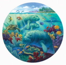 Jigsaw Puzzles - Manatee Beach