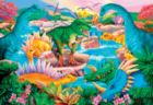 Prehistoric Waterfall - 100pc Jigsaw Puzzle By Sunsout