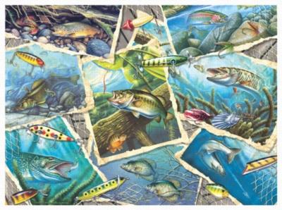 Jigsaw Puzzles - Fishing Frenzy