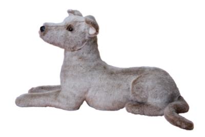Silver Greyhound - 19'' Dog By Douglas Cuddle Toy