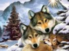 Wolf Harmony - 300pc Large Format Jigsaw Puzzle By Sunsout