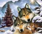 Wolves in Harmony - 1000pc Jigsaw Puzzle By Sunsout