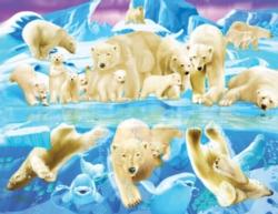 Jigsaw Puzzles - Polar Bear Plunge