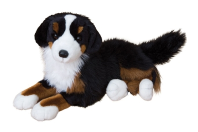 Peter Bernese Mountain - 18'' Dog By Douglas Cuddle Toy