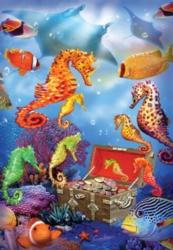 Jigsaw Puzzles - Seahorse Treasure
