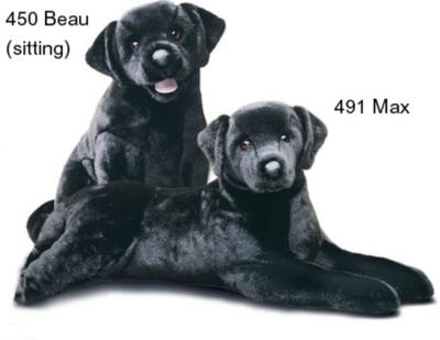 Max Black Lab - 32'' Dog By Douglas Cuddle Toy