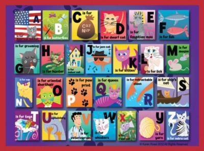 Jigsaw Puzzles for Kids - Cat Alphabet