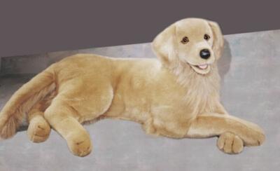 Brandon Golden Retriever - 32'' Dog By Douglas Cuddle Toy