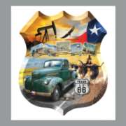 Shaped Jigsaw Puzzles - Texas 66