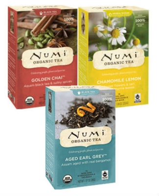 Numi Tea - Box of 100 Single Serve Packets