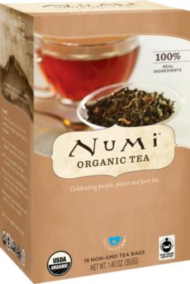 Numi Tea - Box of 18 Single Serve Packets