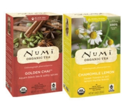 Numi Tea - 6 Assorted Boxes - 108 Single Serve Packets
