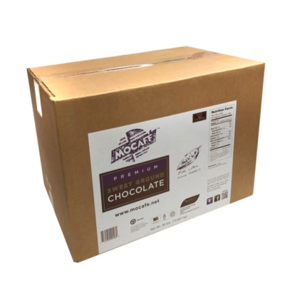 MoCafe - Dominican Sweet Ground Chocolate - 30 lb. Case