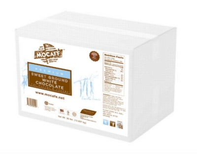 MoCafe - Sweet Ground White Chocolate - 30 lb. Case