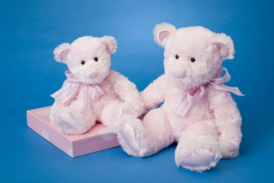 Magic Pink - 9'' Bear By Douglas Cuddle Toy
