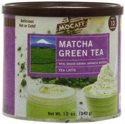 MoCafe - Matcha Green Tea - Premium Tea Latte - 12 oz. Can