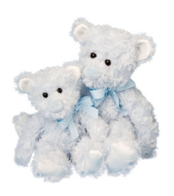 Clarence Blue - 9'' Bear By Douglas Cuddle Toy