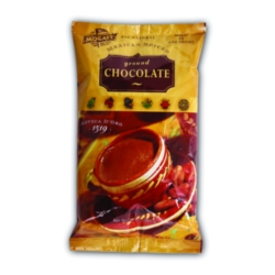 MoCafe - Azteca D'Oro - Mexican Spiced Ground Chocolate - 3 lb. Bag Case