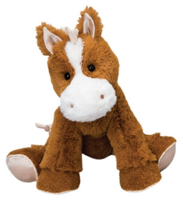 Dandy Brown - 8.5'' Horse By Douglas Cuddle Toy