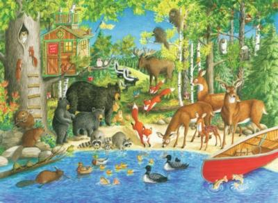 Ravensburger Jigsaw Puzzles - Woodland Friends