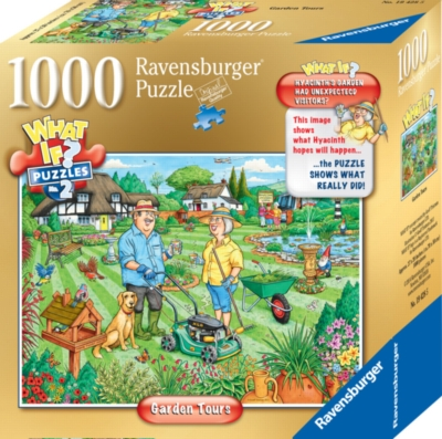 Ravensburger Jigsaw Puzzles - WHAT IF?™: Garden Tours