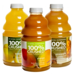 Dr. Smoothie 100% Crushed Fruit Smoothie Concentrate - Assorted Case of 6