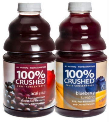 Dr. Smoothie 100% Crushed Fruit Smoothie Concentrate - Berry Blast