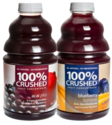 Dr. Smoothie 100% Crushed Fruit Smoothie Concentrate - Berry Blast - Assorted Case of 6