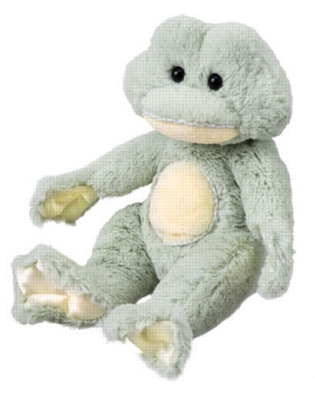 Bounce - 8.5'' Frog By Douglas Cuddle Toy
