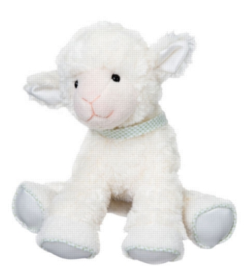 Caper Action Musical - 8.5'' Lamb By Douglas Cuddle Toy