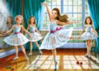 Little Ballerinas - 260pc Jigsaw Puzzle by Castorland