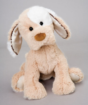 Doug Tan Action Musical - 8.5'' Dog By Douglas Cuddle Toy