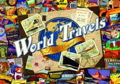 Jigsaw Puzzles - World Travel