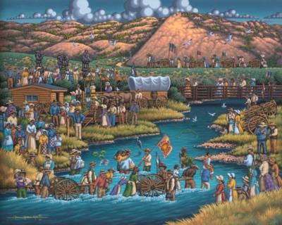Dowdle Jigsaw Puzzles - Pioneer Trek