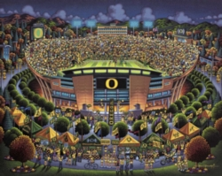 Dowdle Jigsaw Puzzles - University of Oregon Ducks